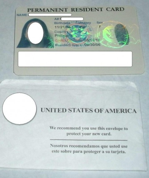 how to get a new permanent resident card